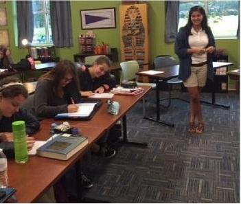 GMC Teacher Classroom Photo