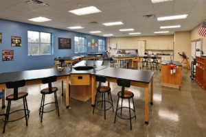 Greer Middle College Classroom